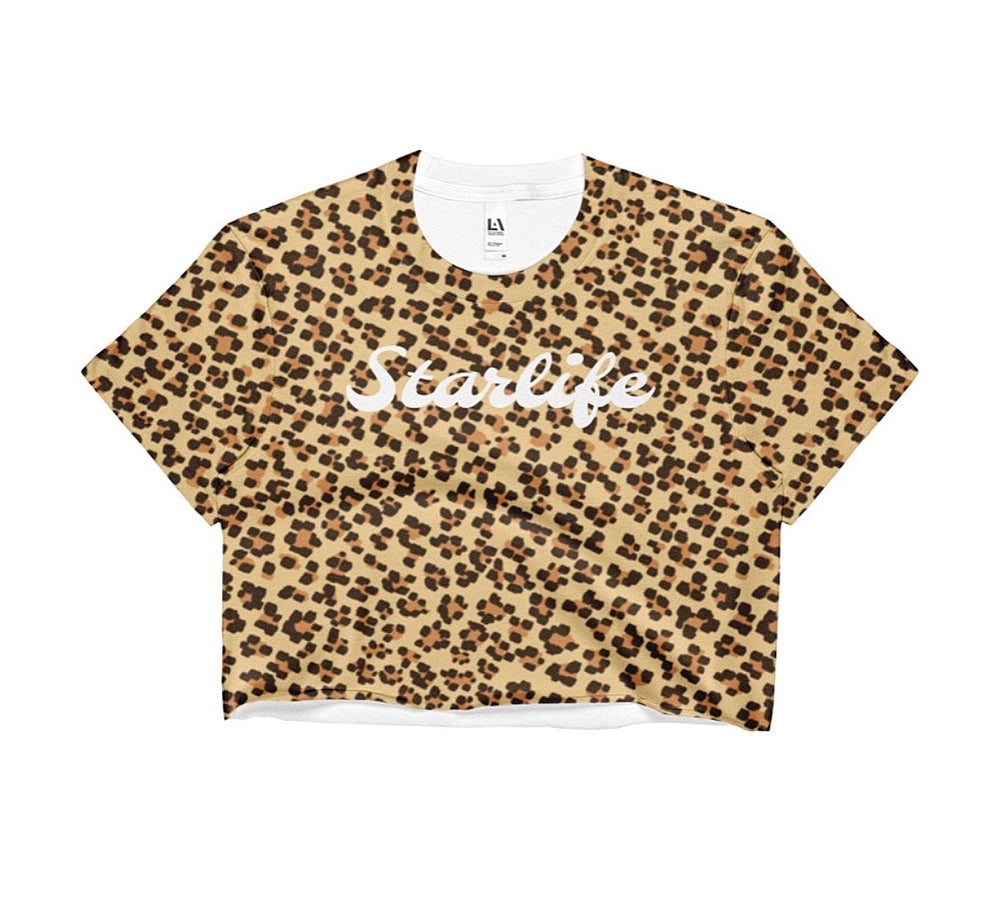 Image of Cheetah Crop Top