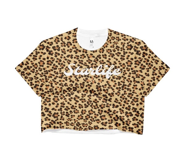 Image of Cheetah Crop Top
