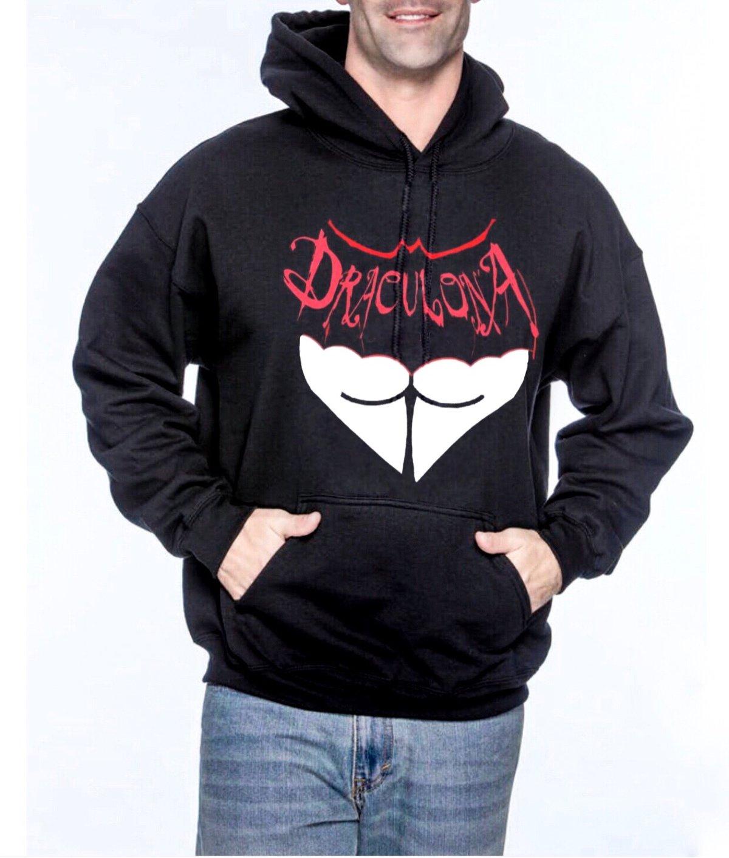 Image of Draculona Unisex Pullover Hoodie