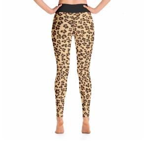 Image of Cheetah Print Leggings