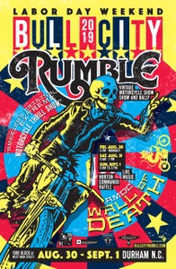 "Image of Bull City Rumble 15 Small Event Poster 11"" x 17"""