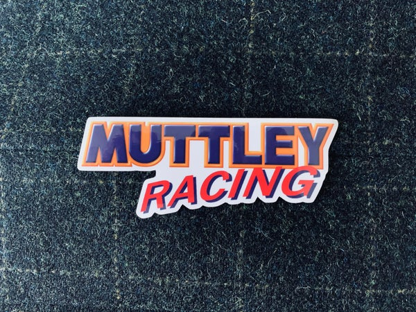 Image of Muttley Racing Sticker