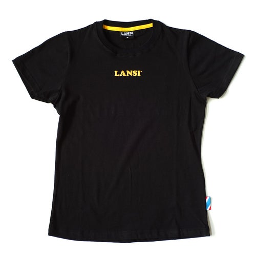 Image of LANSI Alias T-shirt (Black/Gold)