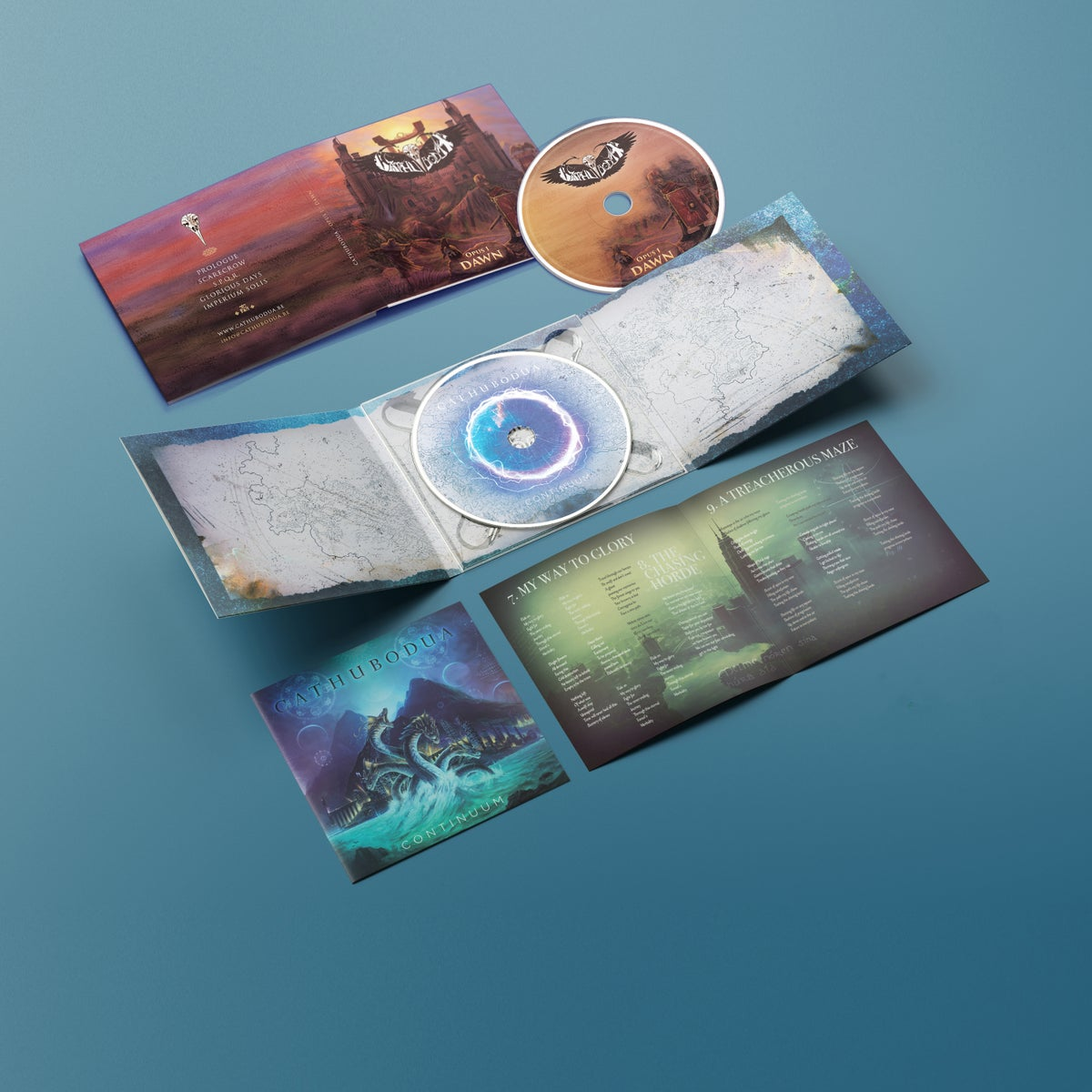 Image of PRE ORDER: Continuum + Opus I: Dawn