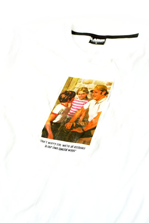 "Image of LANSI ""Advice"" T-shirt (White)"