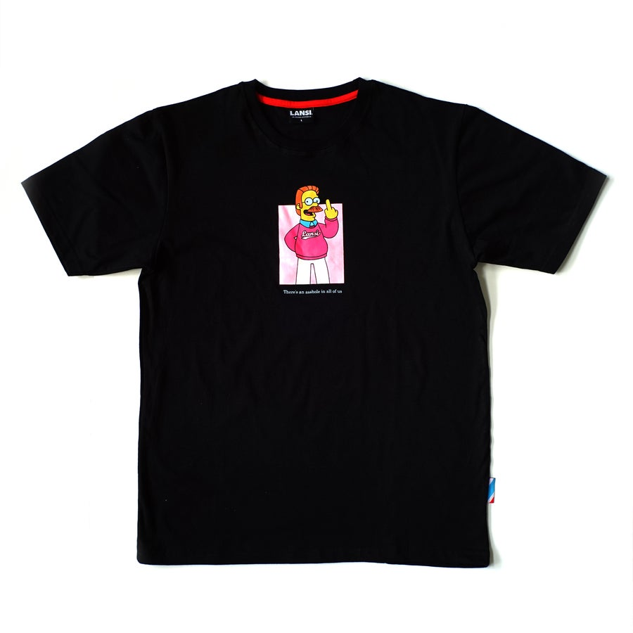 "Image of LANSI ""Ned"" T-shirt (Black)"
