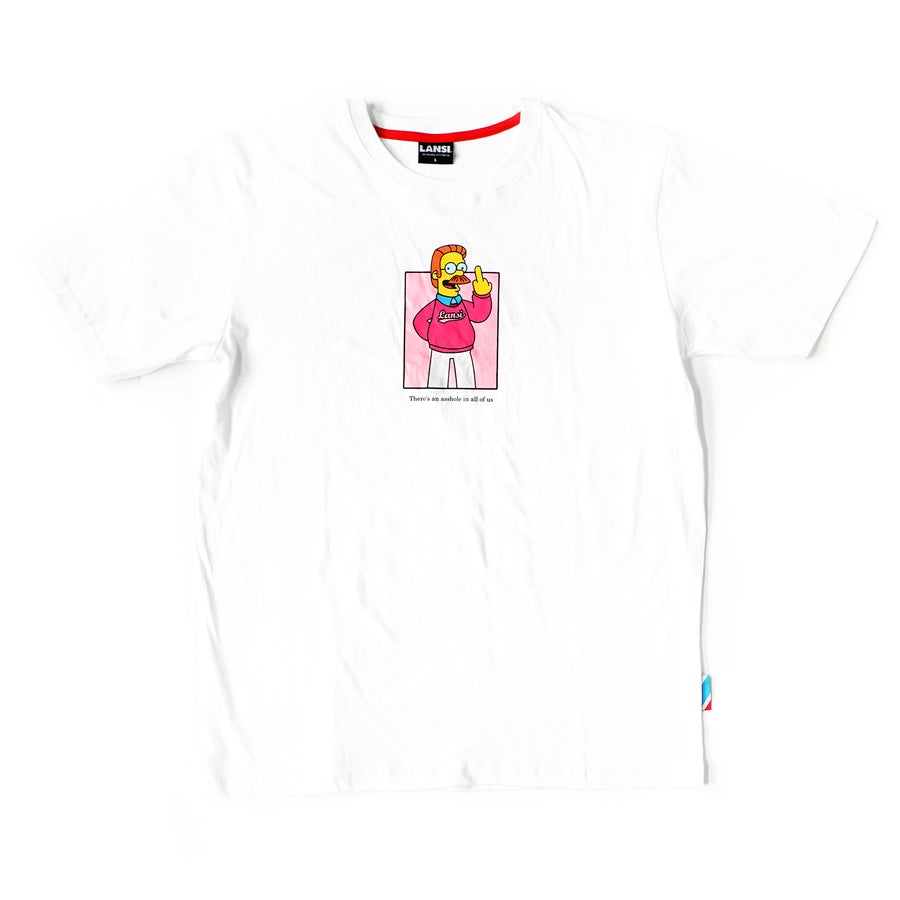 "Image of LANSI ""Ned"" T-shirt (White)"