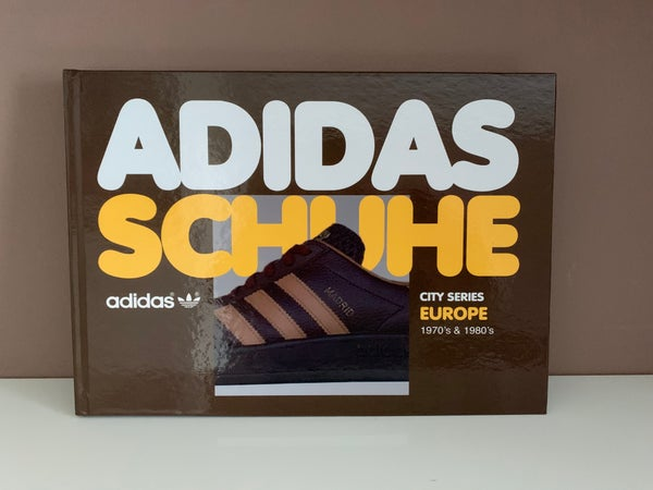 Image of Vintage Adidas Schuhe - Europe -  Book 1  - Hardback Version