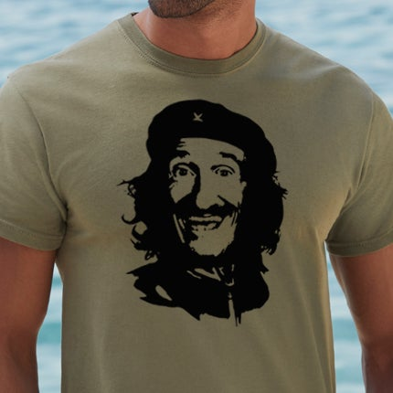 Image of Che Guevara Chuckle T-Shirt (green)