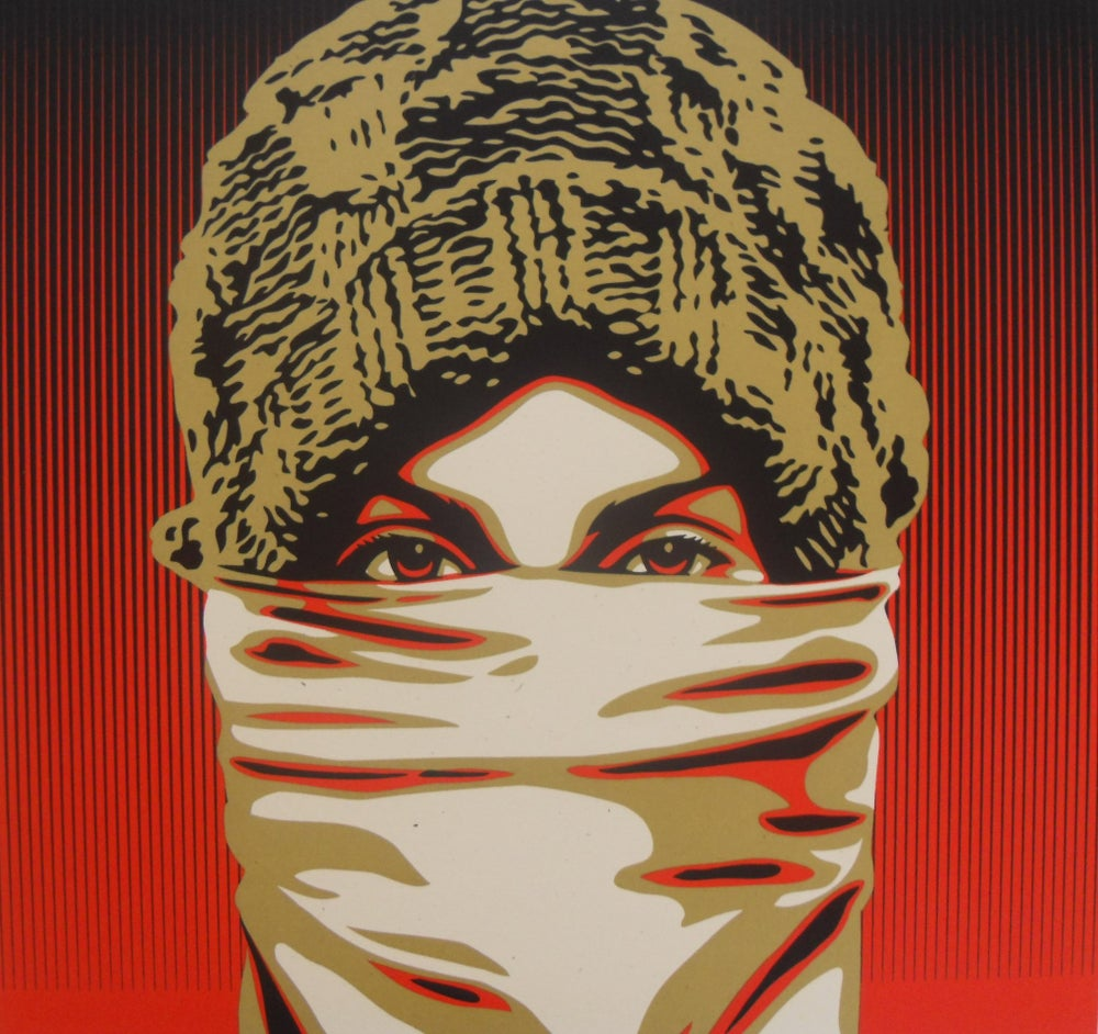 """Image of SHEPARD FAIREY """"OCCUPY PROTESTER"""" - PRINT LTD ED 450 FROM 2012 - 45CM X 60CM"""