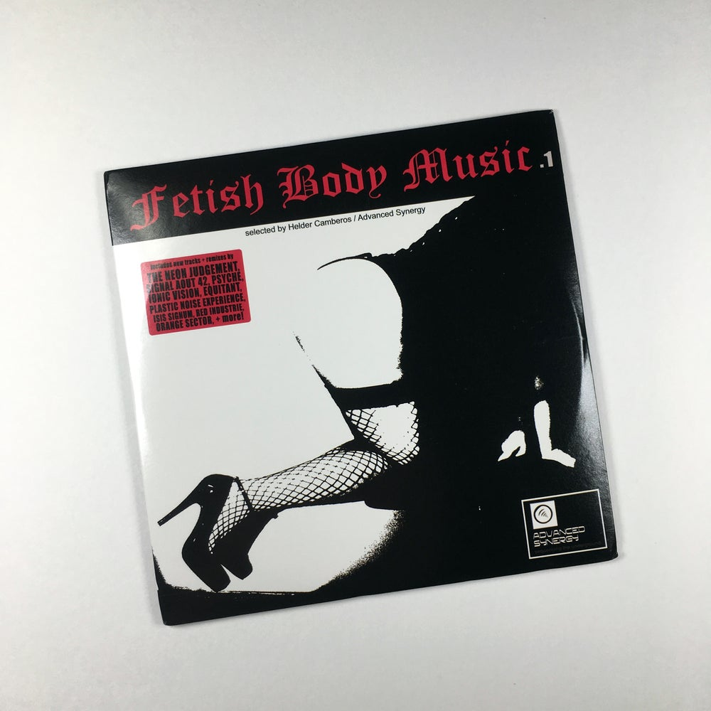 Image of V/A FETISH BODY MUSIC 1 CD/PROMO