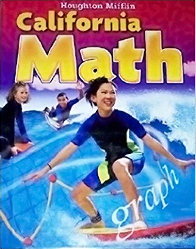 Image of 6th Grade-Houghton Mifflin California Math