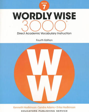 Image of 7th Grade-Wordly Wise 3000, 4th Edition, Vocabulary