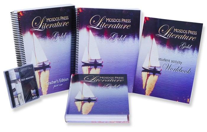Image of 8th Grade-Mosdos Press Literature Series (Gold)