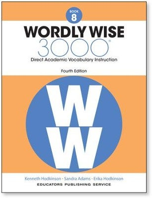 Image of 8th Grade-Wordly Wise 3000, 4th Edition, Vocabulary