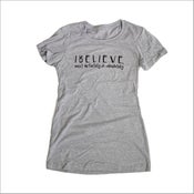 Image of The I BELIEVE MOST DEFINITELY Tee