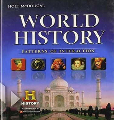 Image of 9th Grade Modern World History-Patterns of Interaction  (Mcdougal Littell)