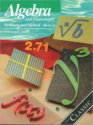 Image of 11th Algebra and Trigonometry: Structure and Method, Book 2