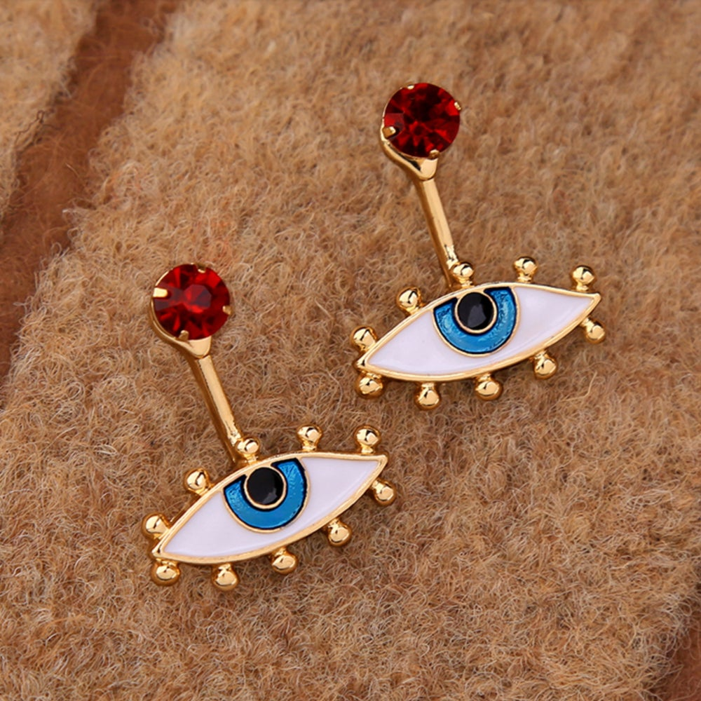Image of EVIL EYE PROTECTION EARRINGS