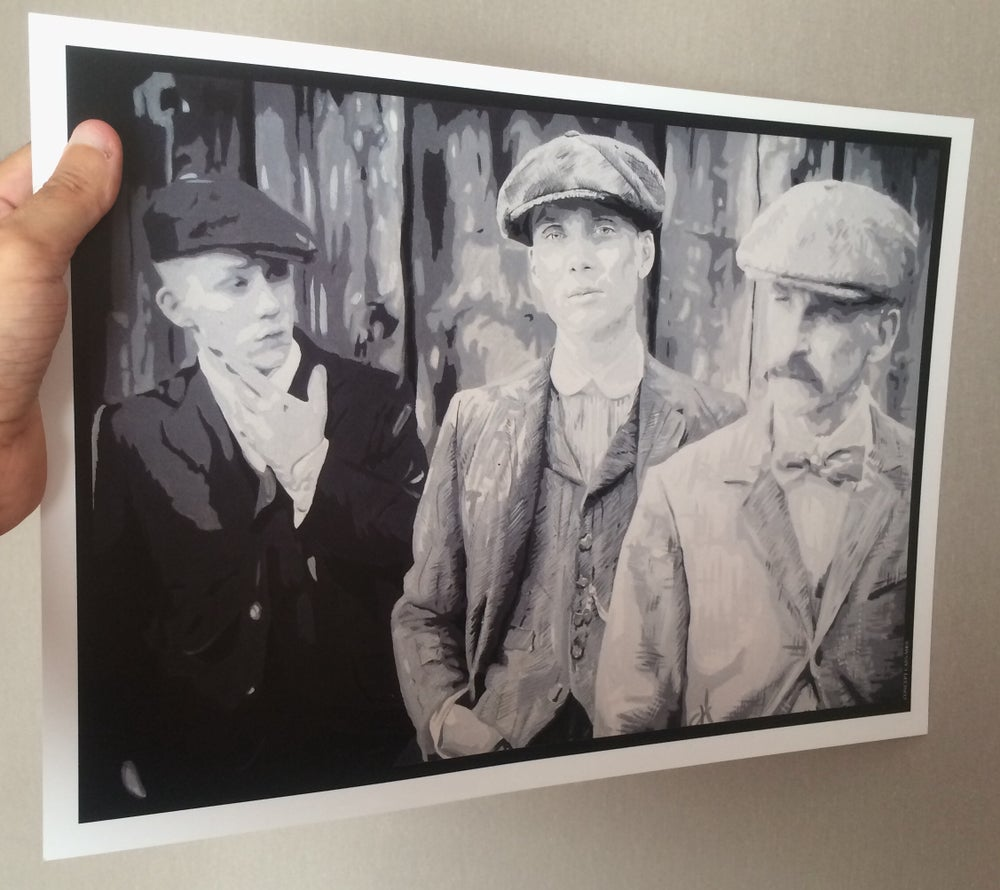 Image of Peaky Blinders 'Business Is Business' A3 Print