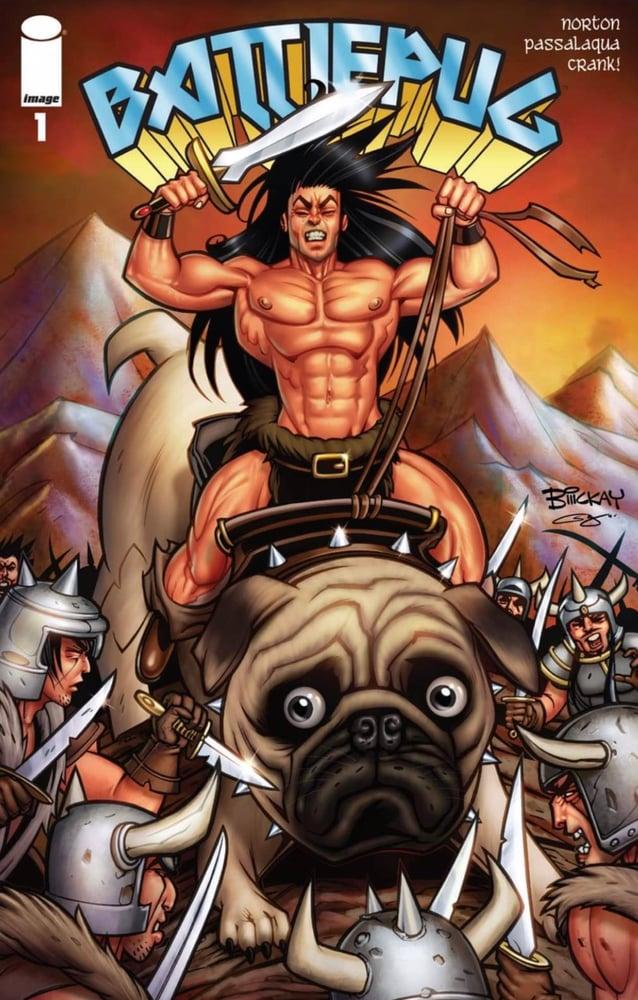 Image of Battlepug #1 (Image Comics)
