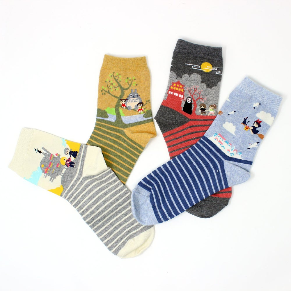 Image of GHIBLI FAN SOCKS