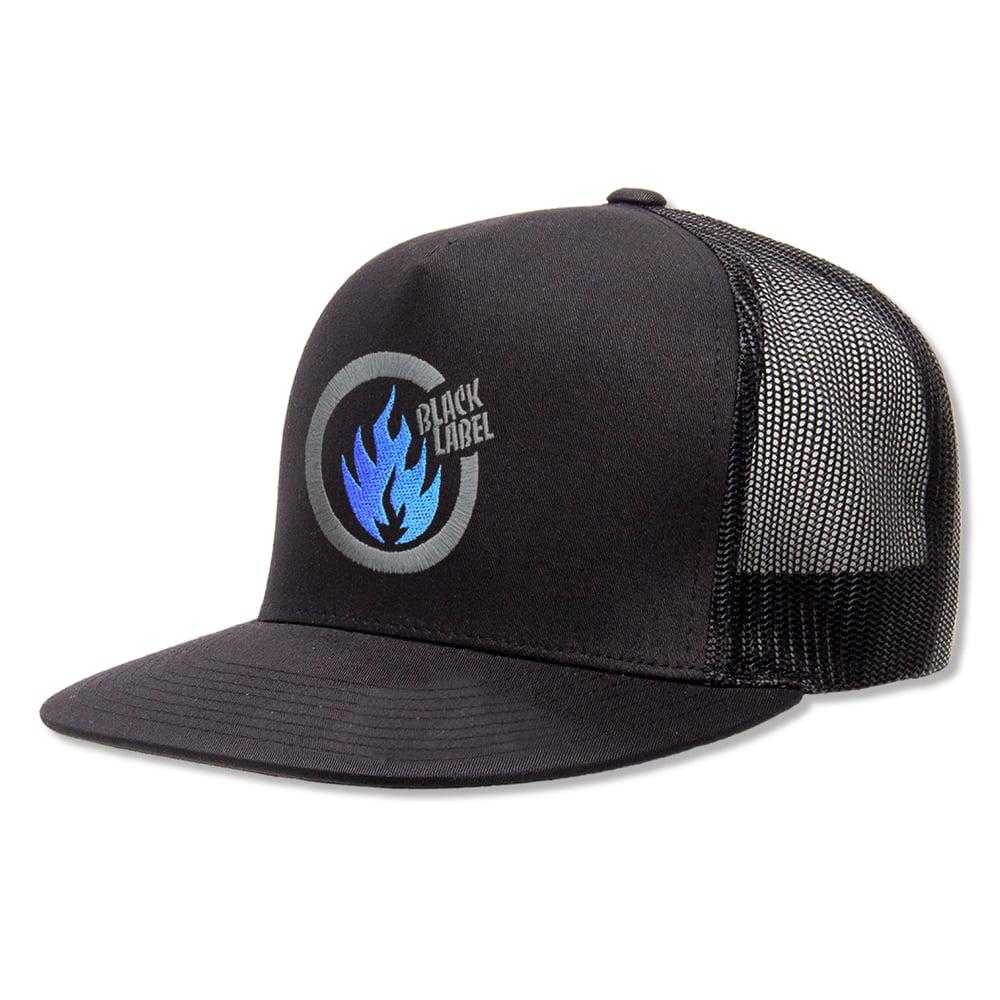 """Image of """"Thrash Flame"""" Hat (Black)"""