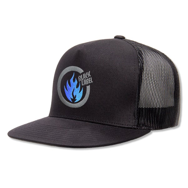 "Image of ""Thrash Flame"" Hat (Black)"