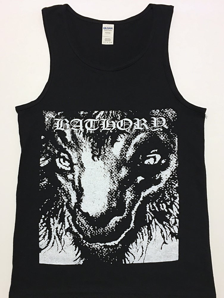 "Image of Bathory "" Goat Head "" - Tank Top"