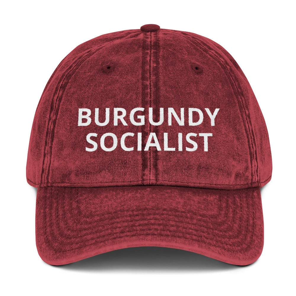 Image of Burgundy Socialist Hat