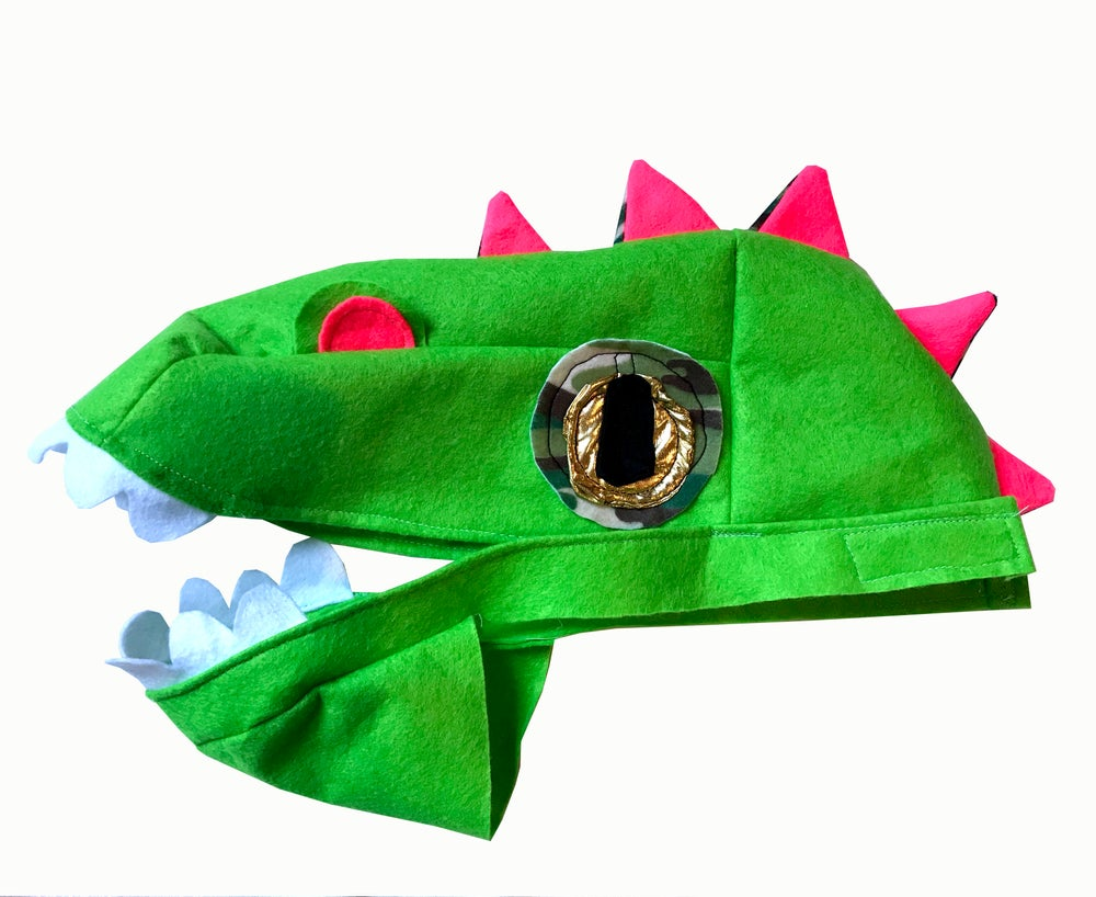 Image of Classic Green Dino Hat!