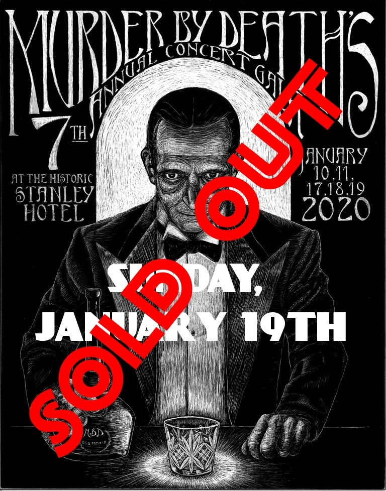Image of Will call ticket for Sunday January 19th, 2020 show at The Stanley Hotel