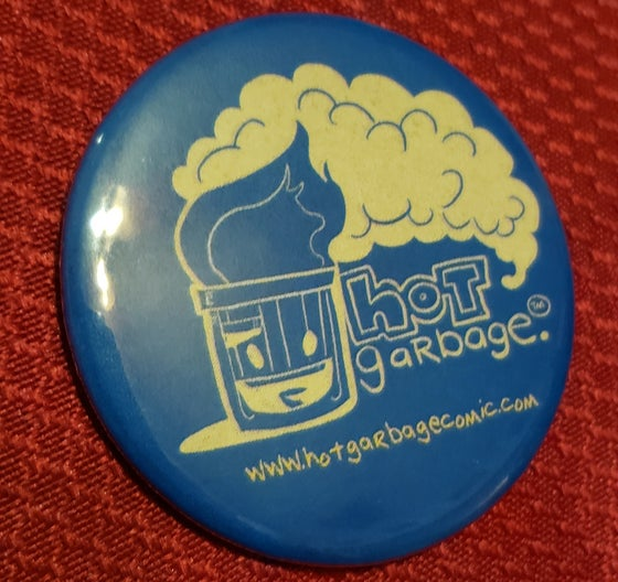 Image of Hot Garbage Button