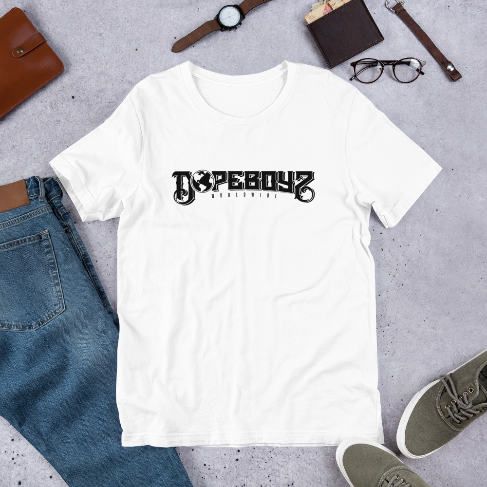 Image of DOPEBOYZ WOLDWIDE ESSENTIAL WHITE TEE