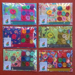 Image of Upcycled Wool Felt Needle Book Kit