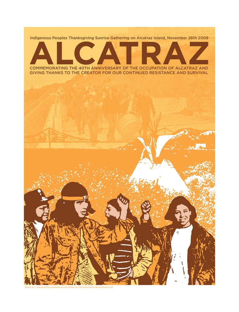 Image of Alcatraz 40th Anniversary Print (2008)