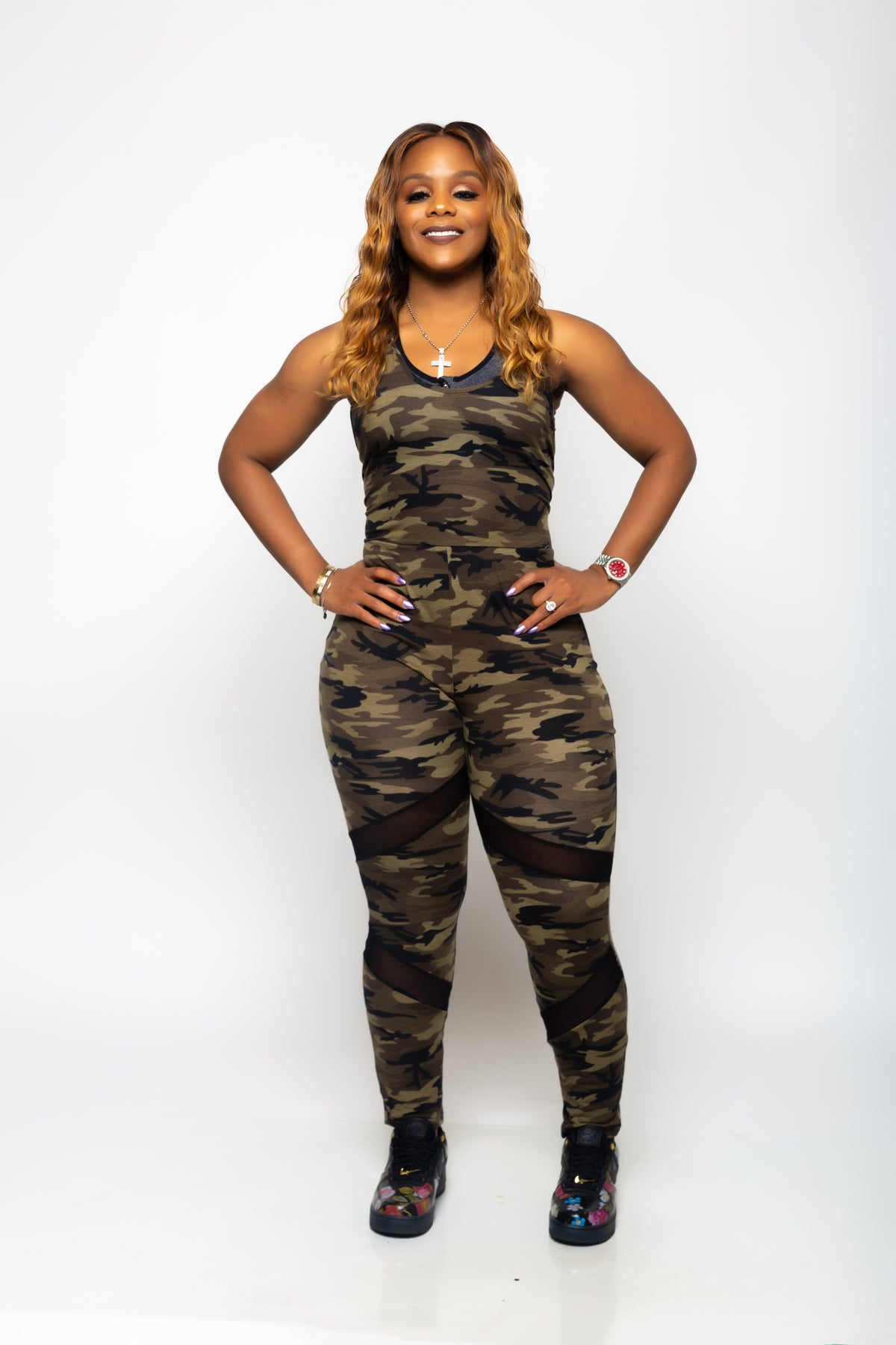 """Image of """"WAR TIME"""" JUMPSUIT +CURVY BABES"""