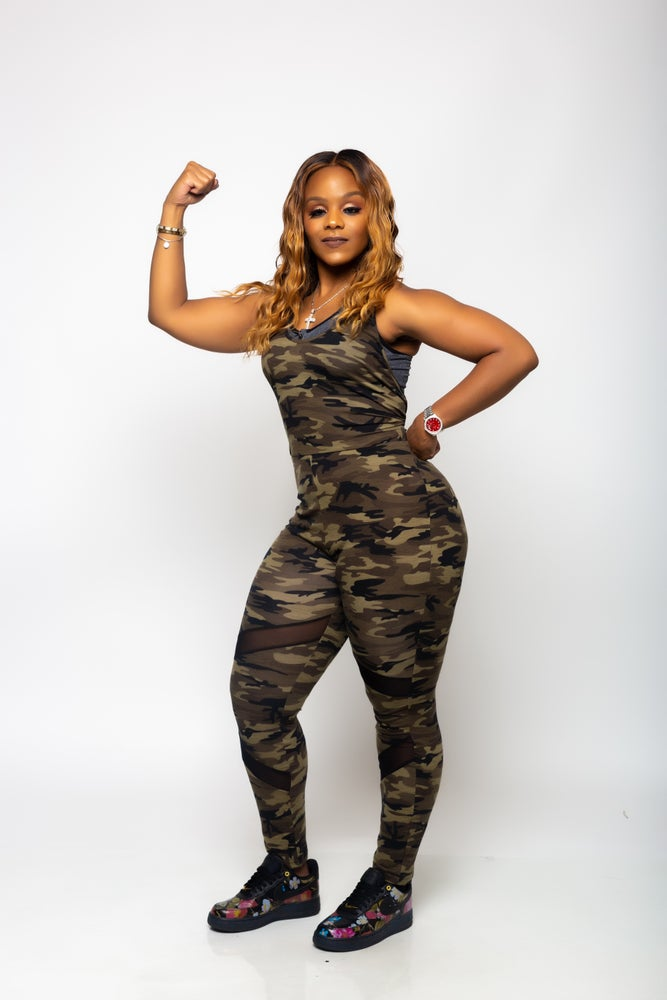 "Image of ""WAR TIME"" JUMPSUIT +CURVY BABES"