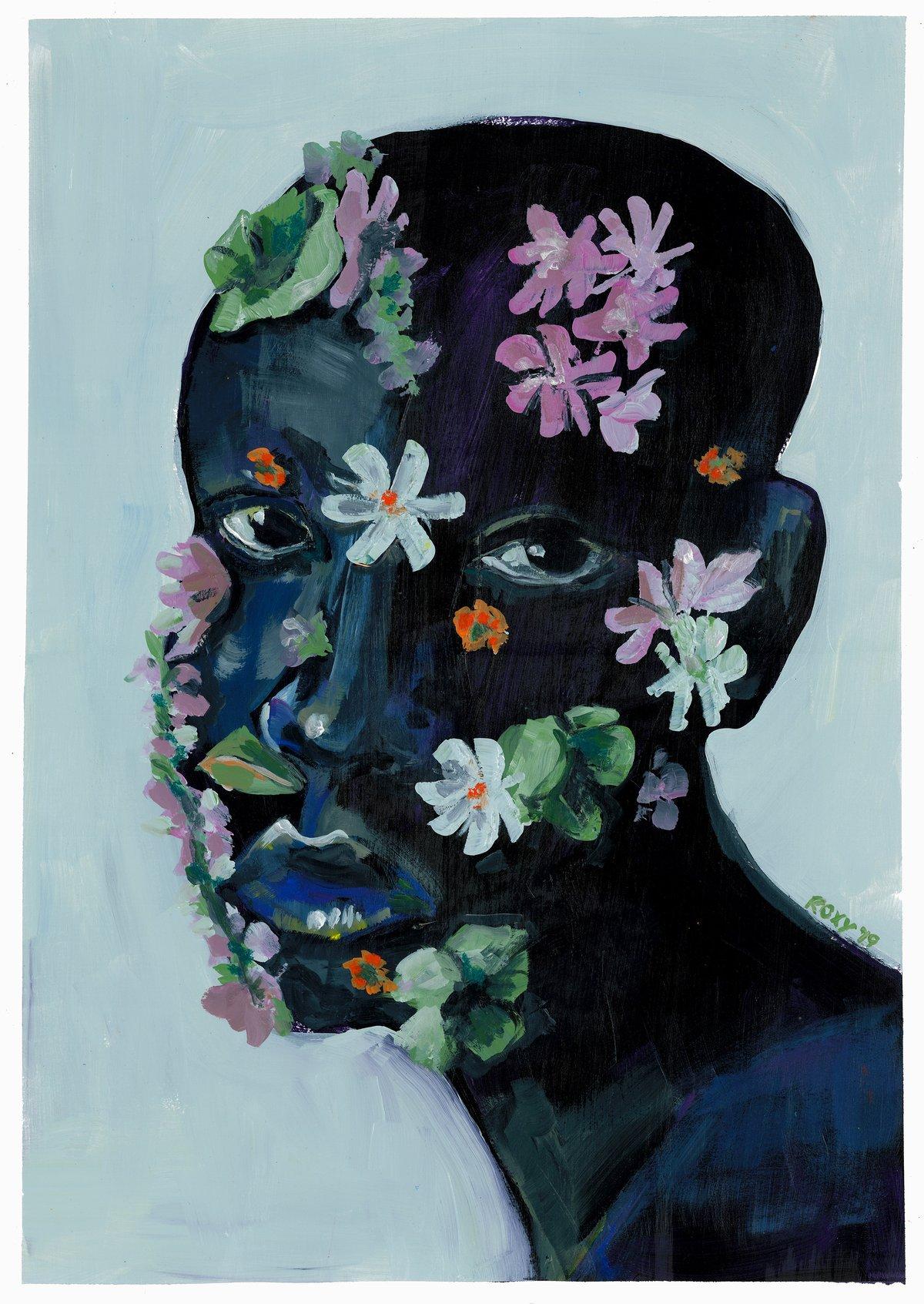 Image of Flower Girl print