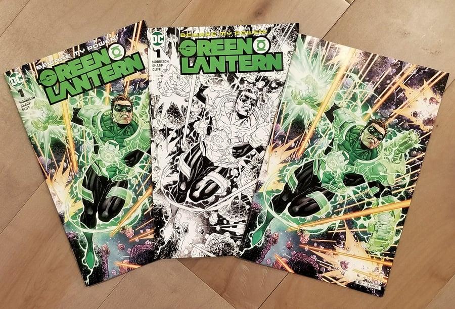 Image of GREEN LANTERN #1 Comic Book Variant Set