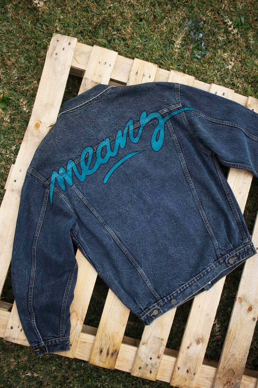 Image of 1/1 Vintage Denim Jacket