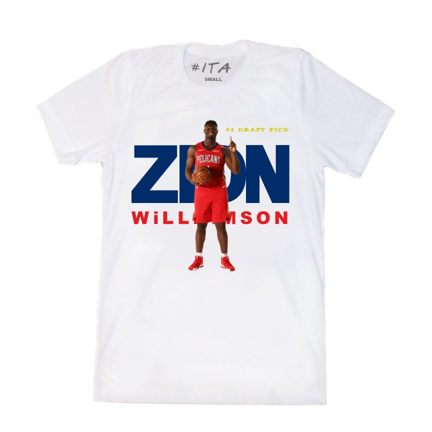 Image of #1 Draft Pick Tee White