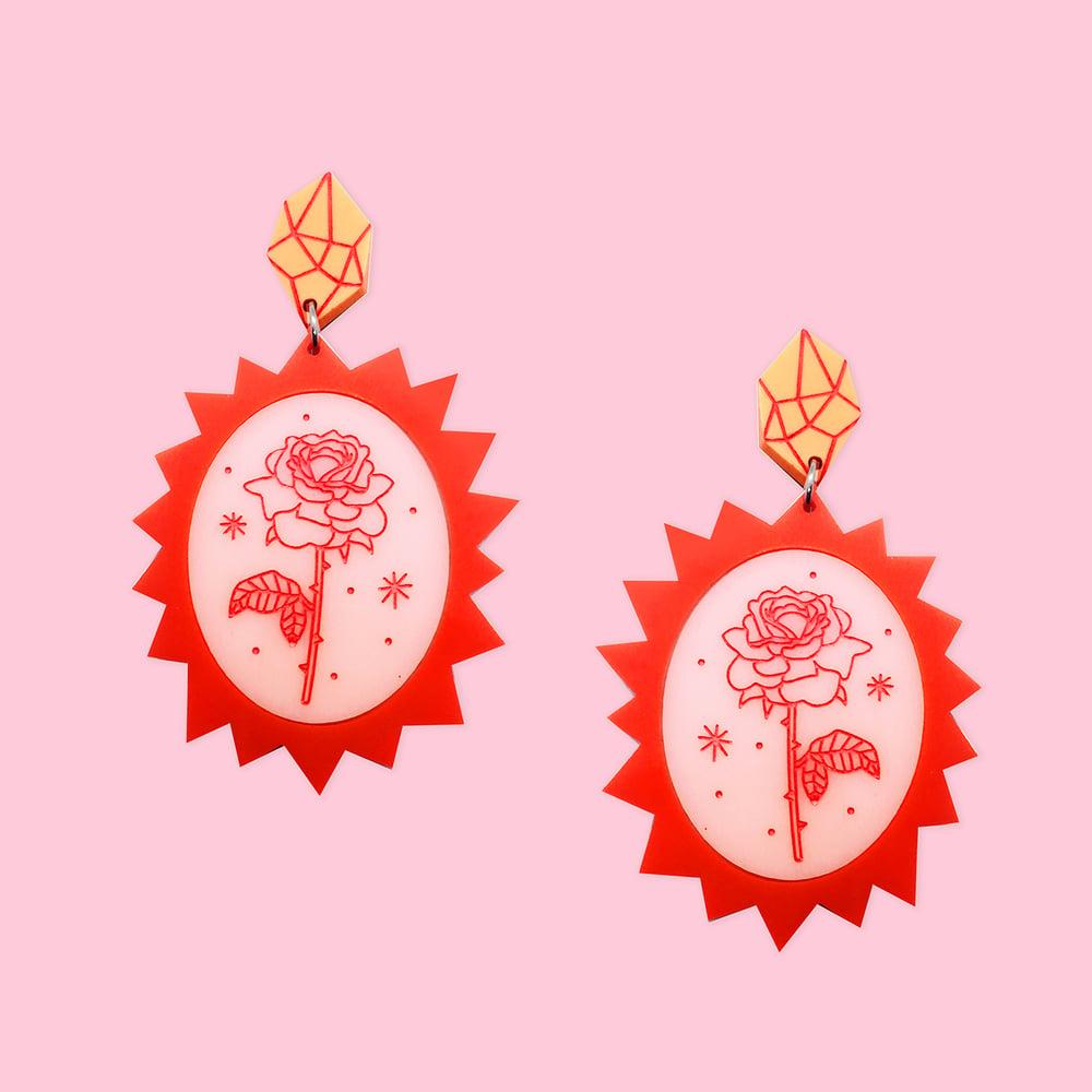 Image of In The Rose Garden - Rose Bursts