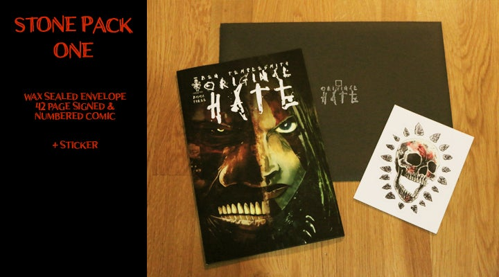 Image of ORIGINAL HATE #3 & STONEPACKS