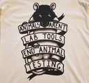 Image of Women's T-Shirt - Animals Aren't Lab Tools