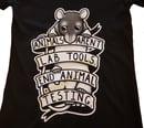 Image of Women's T-Shirt - Animals Aren't Lab Tools