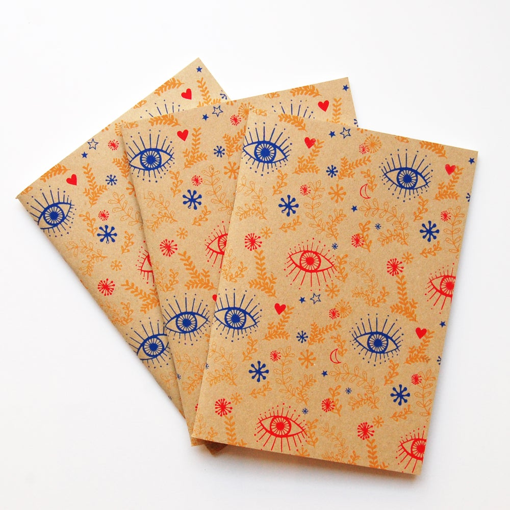 Image of Eyes - Sketch book - kraft