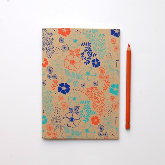 Image of Fleurs - Sketch book - Kraft