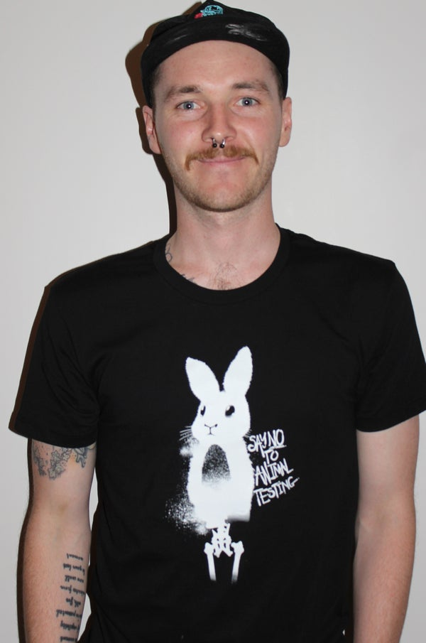 Image of Unisex T-Shirt - Say No To Animal Testing