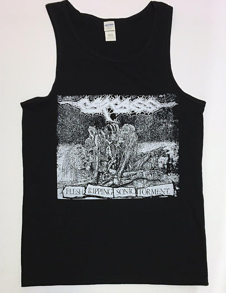"Image of Carcass ""  Sonic Torment "" TankTop T shirt"